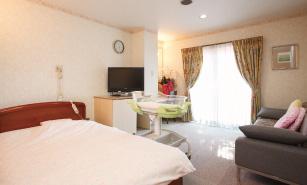 入院する部屋の写真